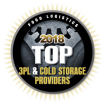 JTS Named to Food Logistics' 2018 Top 3PL & Cold Storage Providers List