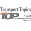 "JTS EARNS TRANSPORT TOPICS RECOGNITION AS 2017 ""TOP 50 Freight Brokerage Firm"""